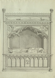 St Mary's, Redcliff, Canning monument f.143